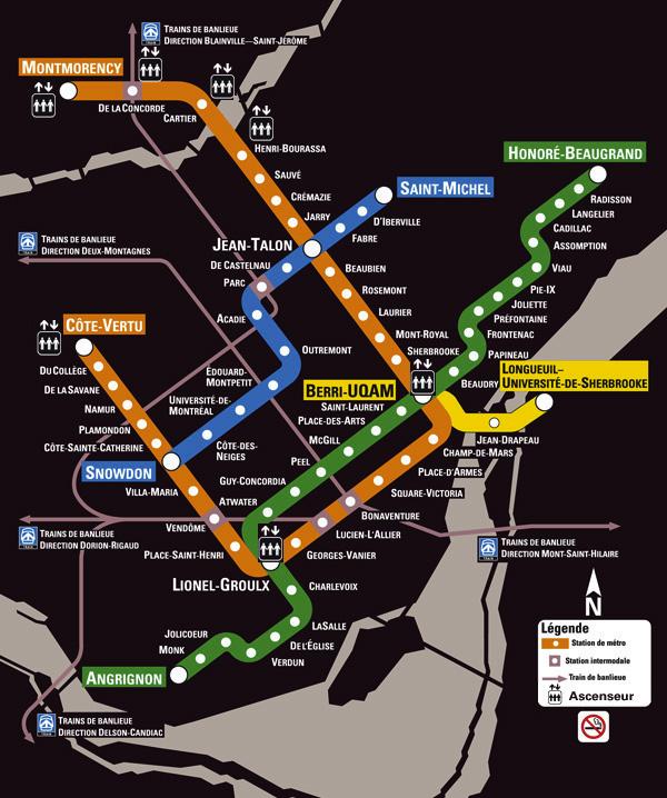 STM Metro, Metro Montreal, Montreal